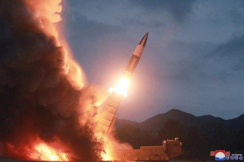 Северная Корея осуществила очередной запуск ракет
