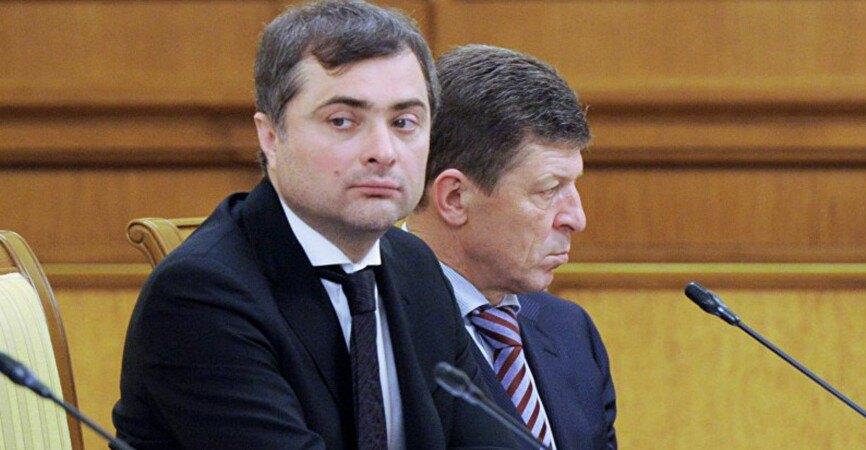 Владислав Сурков (зліва) і Дмитро Козак