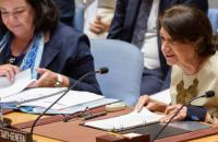 """Дікарло допустила відновлення """"насильства"""" на Донбасі за відсутності """"постійної політичної волі"""""""