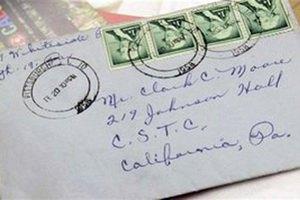 В США доставлено по адресу любовное письмо, отправленное 53 года назад