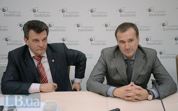 Александр Давиденко (слева) и Александр Галенчик