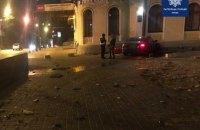 У Києві п'яний водій на Audi влетів у Національну філармонію