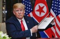 """Трамп заявил, что подписал с Ким Чен Ыном """"всеобъемлющий, исторически важный"""" документ"""