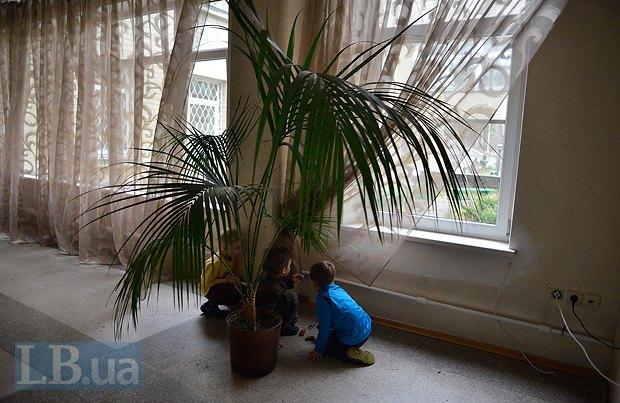 Дети беженцев в санатории <<Джерело>>
