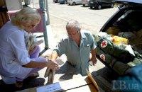 Волонтеры привезли инструменты и оборудование в прифронтовые больницы