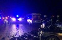 У Мелитополя из-за столкновения легковых автомобилей погибли два человека