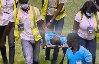 Матч відбору Кубка африканських націй не був завершений: арбітр знепритомнів