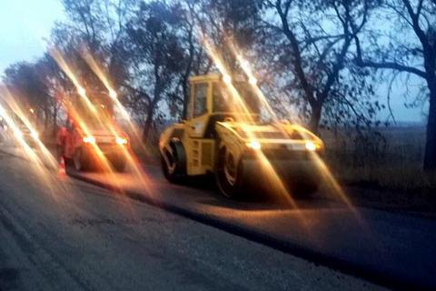 Дорогу Львов - Луцк начали ремонтировать за счет таможни