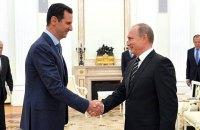 Путін та Асад провели перемовини в Кремлі, візит не анонсували