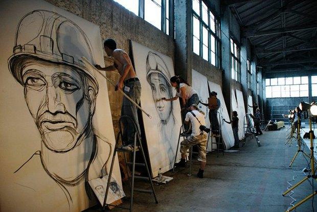 Проект художника Цая Гоцяна «1040 метров под землей» в Изоляции