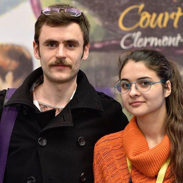 Филипп Сотниченко и Валерия Сочивец на фестивале в Клермон-Ферране