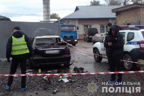 В Дрогобыче подожгли автомобиль кандидата на пост главы ОТО
