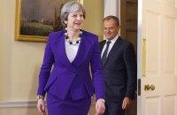 Туск предложил Британии всеобъемлющее торговое соглашение после Brexit