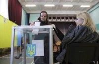 Явка виборців у першому турі перевищила 63% (оновлюється)