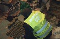 В Киеве у бойца одного из батальонов изъяли 100 гранат и 10 гранатометов