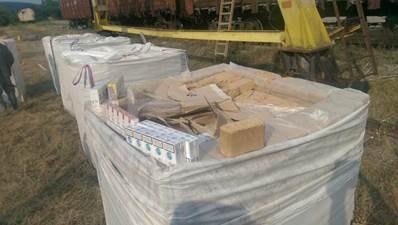 В Ужгороді виявили вагон контрафактних сигарет