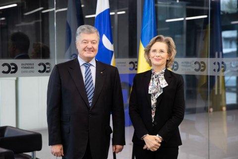 Порошенко встретился с главой Парламентской Ассамблеи ОБСЕ