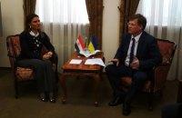 Розенко закликав Єгипет закрити свої порти для вантажних суден із Криму