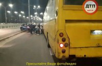 """Водія маршрутки, який збив трьох людей біля метро """"Дорогожичі"""", відправили під нічний домашній арешт"""