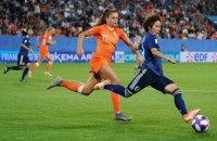 В 1/4 фіналу жіночого чемпіонату світу з футболу пробилися 7 європейських команд