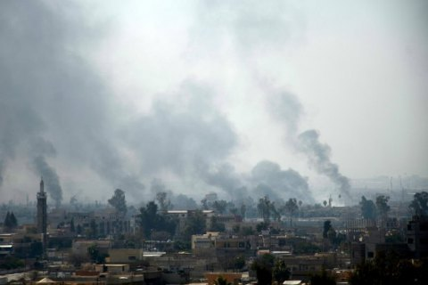 У Мосулі школа потрапила під ракетний обстріл, десятки загиблих