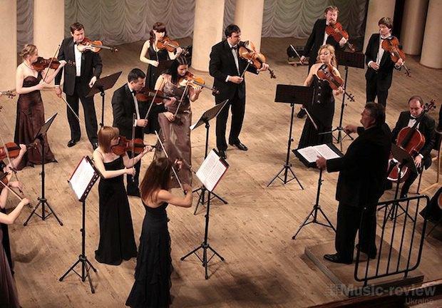 Концерт Киевских солистов в филармонии, дирижер - Дмитрий Яблонский