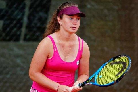 Украинка Снигур выиграла теннисный турнир в Японии