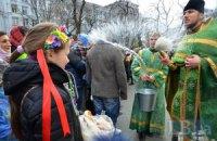 Православные христиане празднуют Вербное воскресенье