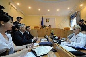 В Европейском суде Тимошенко судит украинка