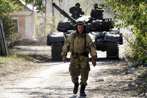 """Боевики обстреливают позиции сил АТО из """"отведенного"""" вооружения, - штаб"""