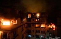 У Парижі під час пожежі в житловому будинку загинули вісім людей, 30 постраждали