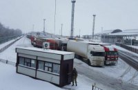 Россия возобновила пропуск грузовиков через границу в Харьковской области