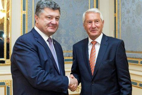 Порошенко призвал Совет Европы усилить давление на Россию