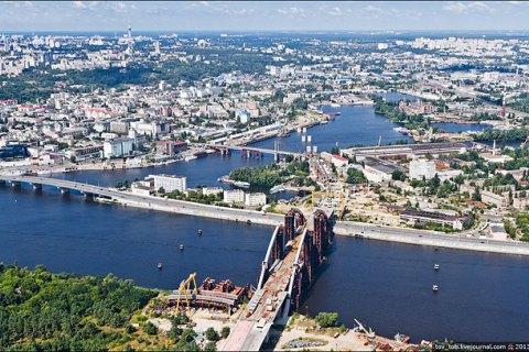 Кличко: строительство Подольского моста возобновится в 2017 году