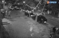 Появилось видео взрыва на Соломенке