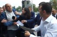"""Прессекретар Зеленського звинуватила журналіста в провокації конфлікту """"заради картинки"""""""