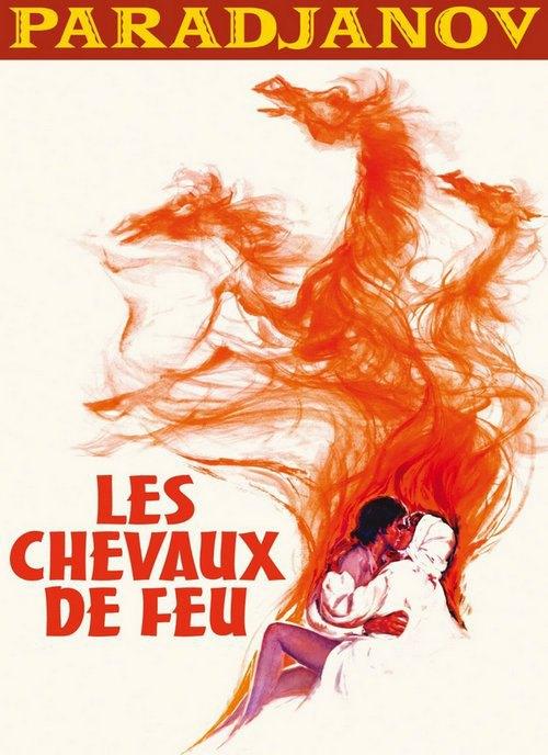 """Французський постер """"Тіней"""" - фільм йшов під назвою """"Вогняні коні"""""""
