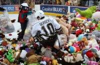 У США під час хокейного матчу фани викинули на лід майже 35 тис. м'яких іграшок