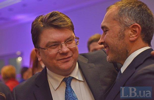 Игорь Жданов (слева) и Андрей Пышный