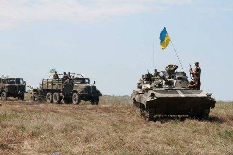 Два бойца АТО подорвались в Луганской области, один погиб