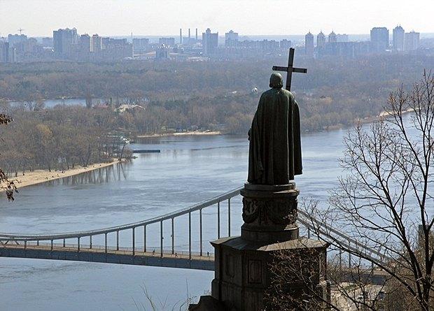 Пам*ятник Хрестителю Русі князю Володимиру Великому