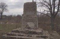 В полтавском селе демонтировали памятник Ленину