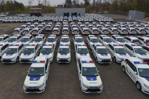 Від початку роботи поліція пошкодила 180 патрульних автомобілів
