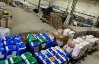 В Запорожье разоблачили подпольный цех по изготовлению смесей для кальянов на 15 млн грн