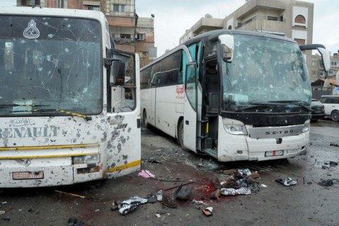 Взрыв автобуса в сирийском городе Хомс: 8 погибших, 16 раненых (Обновлено)