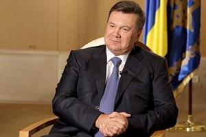 Янукович поздравил художников с профессиональным праздником