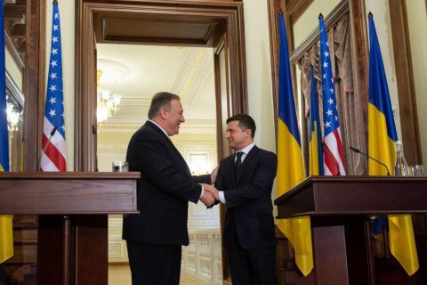 Зеленський обговорив з Помпео можливість візиту у Вашингтон