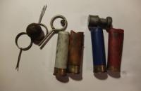 На Грушевского нашли гильзы от боевых патронов