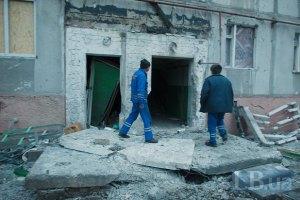 Луганск обстреляли с использованием кассетных бомб, - ОБСЕ