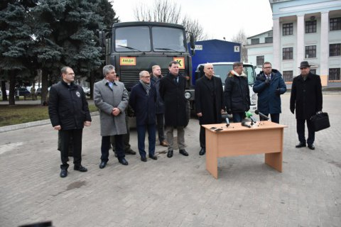 Латвия, Эстония, Швеция и Финляндия передали гумпомощь жителям Донбасса